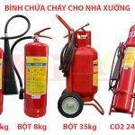 3 Lợi ích khi sử dụng bình chữa cháy cho nhà xưởng tại cơ sở sản xuất cơ khí