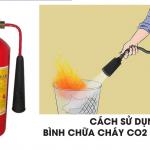 90% Các bạn không biết Bình chữa cháy CO2 dùng để chữa đám cháy nào?