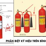 3 cách đơn giản nhận biết bình chữa cháy qua các ký hiệu ABC, CO2