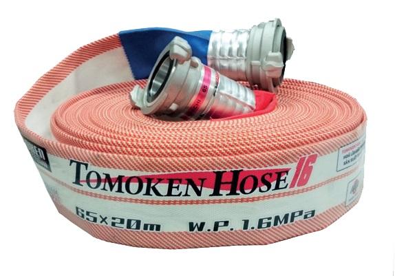 Vòi cứu hỏa Tomoken D65 1.6Mpa (đã có khớp nối vòi)