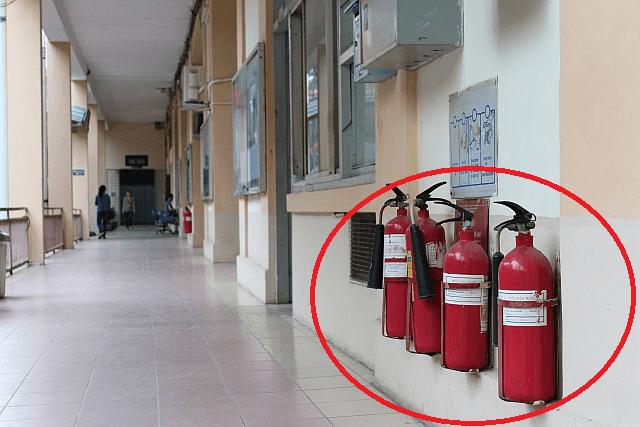 Bố trí bình chữa cháy đúng vị trí để đảm bảo an toàn và bảo vệ kịp thời khi cháy xảy ra