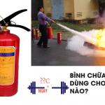 Lợi ích của việc hiểu rõ bình chữa cháy bột dùng để chữa đám cháy nào cho doanh nghiệp