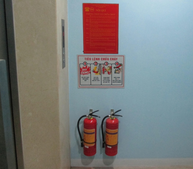Nạp bình chữa cháy ở đâu là an toàn nhất tại tphcm