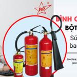 Bình chữa cháy bột khô ABC 2kg là gì, sử dụng được bao nhiêu lần?-Liên hệ 0913.801.891