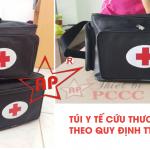 Túi cứu thương theo thông tư 19 Bộ y tế-Liên hệ 0913.801.891