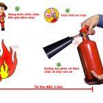 Đừng để chết oan vì không biết cách dùng bình chữa cháy CO2