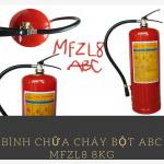 Bình chữa cháy bột ABC MFZL8 8KG-Liên hệ 0913.801.891