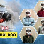Mặt nạ phòng khói độc thiết bị cần thiết cho môi trường ô nhiễm