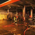 Cháy cây xăng ở Sài Gòn, nhiều người tháo chạy