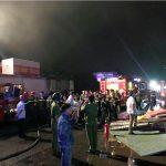 Tin tức cháy nổ- Sài Gòn cháy kinh hoàng đêm halloween