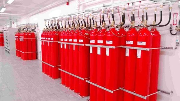 Hệ thống chữa cháy co2 được lắp đặt cố định