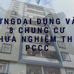 8 chung cư chưa nghiệm thu phòng cháy chữa cháy tại TPHCM