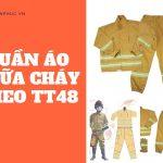 Một bộ quần áo chữa cháy theo thông tư 48 gồm?-Liên hệ 0913.801.891