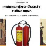 Phương tiện cứu hỏa cần thiết trong cơ sở kinh doanh