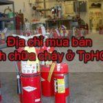 Địa chỉ mua bình chữa cháy ở đâu TpHCM là tốt rẻ?-Liên hệ 0913.801.891