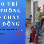 Bảo trì hệ thống phòng cháy chữa cháy tại AN PHÚC 0913.801.891