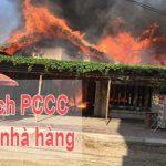 3 Cách PCCC Cho Nhà Hàng tốt nhất hiện nay