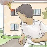 """Những kỹ năng sinh tồn """"nhất định phải biết"""" khi xảy ra hỏa hoạn ở nhà cao tầng."""