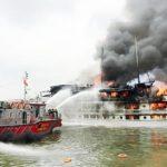 Chữa cháy cho động cơ ô tô, phòng máy tàu điện, tàu biển như thế nào?