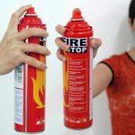 Tại sao bình chữa cháy Fire Stop 400ml phù hợp dùng cho xe hơi