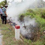 Mùa khô, đề phòng cỏ rác cháy lan