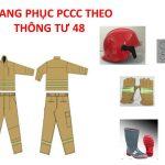Thông tư 48 qui định những gì về trang phục PCCC ?