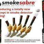 Bình xịt tạo khói SMOKE SABRE giúp bạn nhận biết độ an toàn của thiết bị báo khói