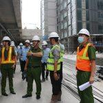 Kiểm tra an toàn PCCC tại các dự án, công trình xây dựng trọng điểm