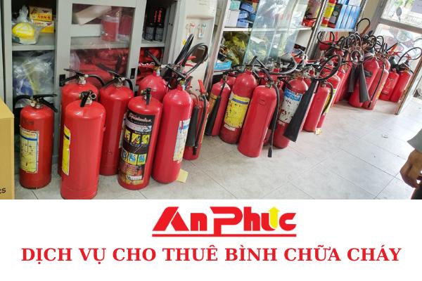 Dịch vụ cho thuê bình chữa cháy