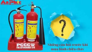 mua bình chữa cháy