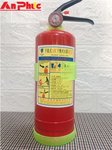 Bình chữa cháy MFZL2 bột ABC 2kg