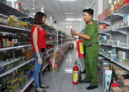 an toàn PCCC trong sắp xếp hàng hóa