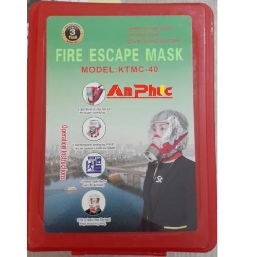 mặt nạ chống khói thông dụng 40′